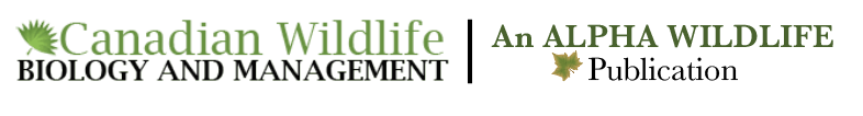 Canadian Wildlife Biology and Management